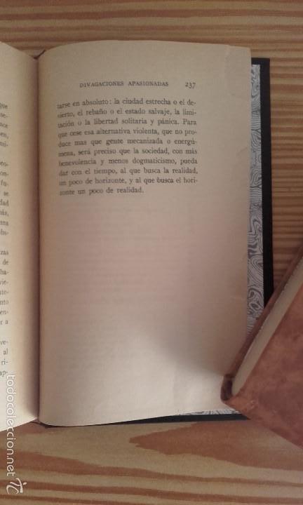 Libros antiguos: PÍO BAROJA - DIVAGACIONES APASIONADAS (1924) [1ª EDICIÓN] - Foto 7 - 60694695