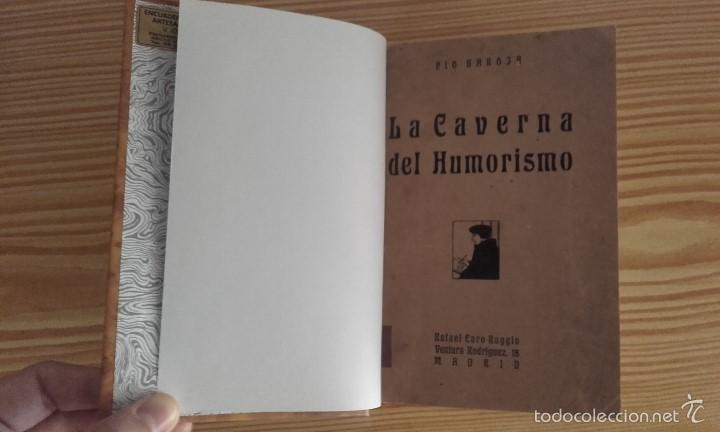 PÍO BAROJA - LA CAVERNA DEL HUMORISMO (1919) [1ª EDICIÓN] (Libros antiguos (hasta 1936), raros y curiosos - Literatura - Ensayo)