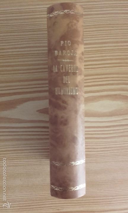Libros antiguos: PÍO BAROJA - LA CAVERNA DEL HUMORISMO (1919) [1ª EDICIÓN] - Foto 3 - 60696207