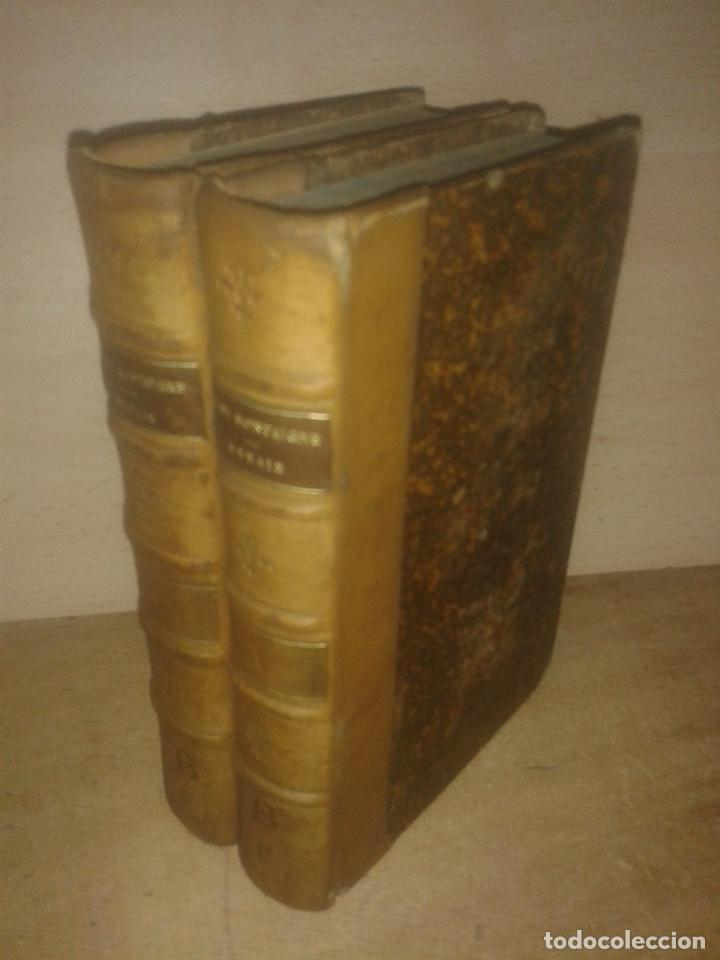 ESSAIS (2 VOLUMENES) DE --- AVEC DES NOTES DE TOUS LES COMMENTATEURS. - MONTAIGNE, MICHEL DE (Libros antiguos (hasta 1936), raros y curiosos - Literatura - Ensayo)