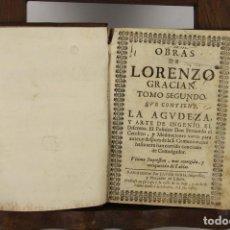 Libros antiguos: 4887- OBRAS DE LORENZO GARCIAN. IMP. JAIME SURIA. S/F. TOMO SEGUNDO.. Lote 43906706