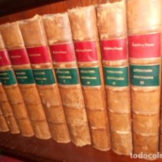 Libros antiguos: HISTORIA DE LA LENGUA Y LITERATURA CASTELLANA CEJADOR Y FRAUCA 15 VOLÚMENES PASTA ESPAÑOLA, EXCELENT. Lote 67125793