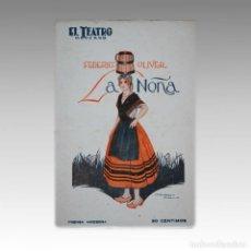 Libros antiguos: EL TEATRO MODERNO Nº 1 AL 344 (FALTAN 21 NUMEROS). Lote 54240415
