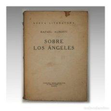 Libros antiguos: SOBRE LOS ÁNGELES (PRIMERA EDICIÓN). Lote 54241738
