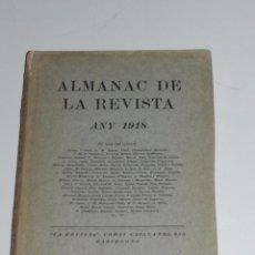 Libros antiguos: ALMANAC DE LA REVISTA ANY 1918 , JOSEP CARNER, JOSEP M JUNOY , JOAN MIRO, J TORRES-GARCIA. Lote 73690927