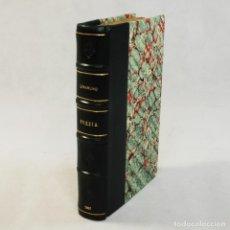 Libros antiguos: POESÍAS MIGUEL DE UNAMUNO (1907). Lote 54240414