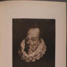 Libros antiguos: RODRIGUEZ MARIN, FRANCISCO: EL RETRATO DE MIGUEL DE CERVANTES. 1917. PRIMERA EDICIÓN. Lote 82024868