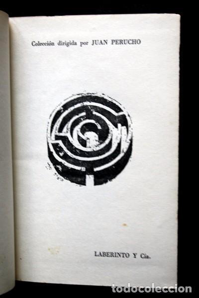 Libros antiguos: ALVARO CUNQUEIRO - LABERINTO Y Cia. - 1970 - TAPA DURA - Foto 6 - 82315120