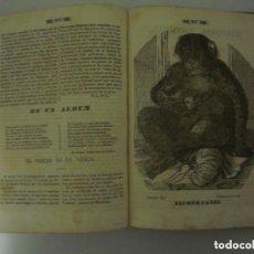 Libros antiguos: EL PANORAMA. PERIÓDICO LITERARIO. 1839.OBRA ILUSTRADA CON MULTITUD DE GRABADOS. Lote 88138472