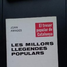 Libros antiguos: LES MILLORS LLEGENDES POPULARS. Lote 92970190