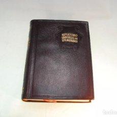 Libros antiguos: ENSAYO DE UN REPERTORIO UNIVERSAL DE EFEMÉRIDES - VICENTE VEGA - AGUILAR - MADRID - 1949 -. Lote 96385047
