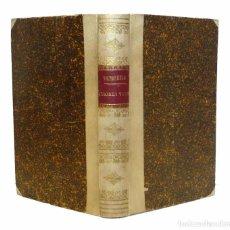 Libros antiguos: 1887 - PERGAMINO - VICTOR HUGO - OBRAS INÉDITAS - NOTAS HISTÓRICAS Y TESTIMONIALES - ROMANTICISMO. Lote 102574299