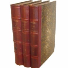 Libros antiguos: 1880 - HISTORIA DE LITERATURA ANTIGUA Y MODERNA. COMPLETA EN 3 TOMOS DEL SIGLO XIX. ENCUADERNACIONES. Lote 103196071