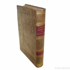 Libros antiguos: VALENCIA, 1887 - VICTOR HUGO: OBRAS COMPLETAS - ENORME LIBRO ILUSTRADO CON LÁMINAS A COLOR - PIEL. Lote 103199927