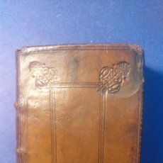Libros antiguos: PRECIOSO LIBRO DE 1678 EN CUERO TRAGEDIAS DE SENECA . Lote 103410591
