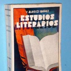 Libros antiguos: ESTUDIOS LITERARIOS. Lote 106875251