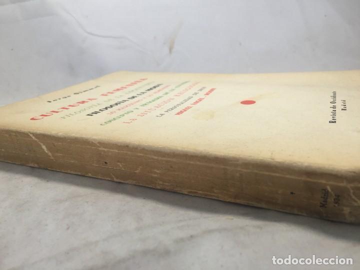 Libros antiguos: Cultura Femenina y Otros ensayos Jorge Simmel Revista occidente 1934 coquetería moda - Foto 2 - 108427227