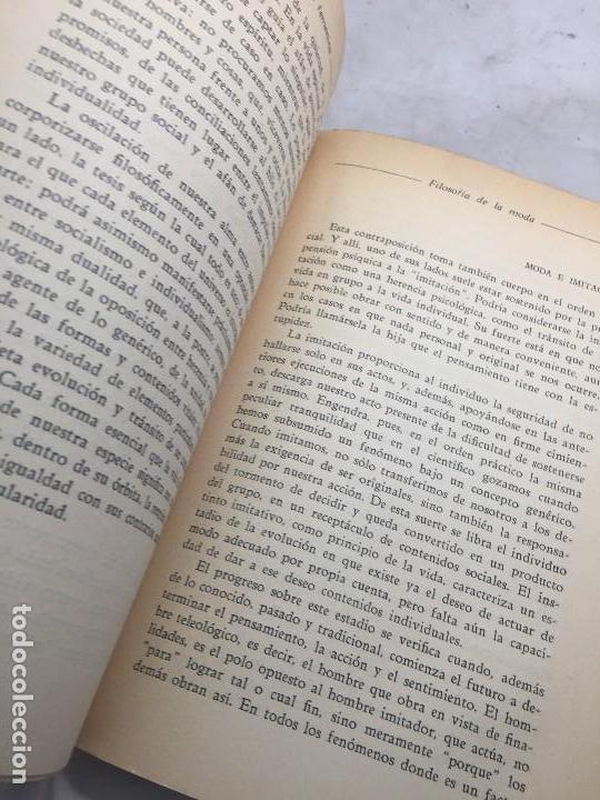 Libros antiguos: Cultura Femenina y Otros ensayos Jorge Simmel Revista occidente 1934 coquetería moda - Foto 5 - 108427227
