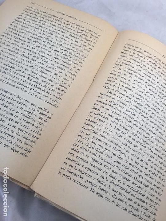 Libros antiguos: Cultura Femenina y Otros ensayos Jorge Simmel Revista occidente 1934 coquetería moda - Foto 9 - 108427227