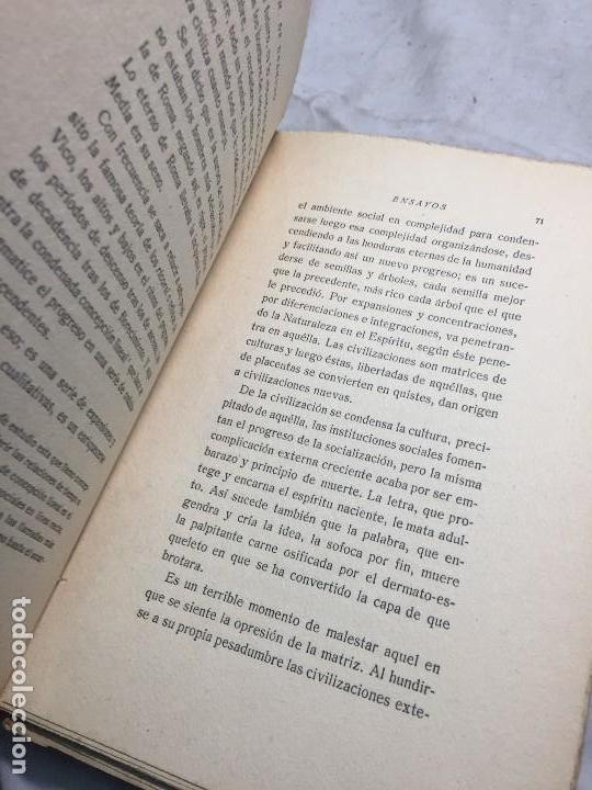 Libros antiguos: Miguel de Unamuno Ensayos tomo III residencia de estudiantes buen estado completo intonso - Foto 7 - 109505607
