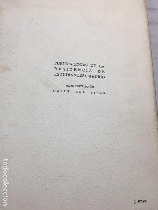 Libros antiguos: Miguel de Unamuno Ensayos tomo III residencia de estudiantes buen estado completo intonso - Foto 12 - 109505607