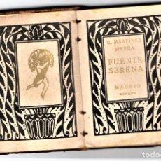 Libros antiguos: LIBRO EN MINIATURA,FUENTE SERENA, AÑO 1930, EN PIEL,LITERATURA ESPAÑOLA DE PRE GUERRA CIVIL,MADRID. Lote 114388499