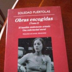 Libros antiguos: (695) OBRAS ESCOGIDAS -TOMO 1 -EL BANDIDO DOBLEMENTE ARMADO-UNA ENFERMEDAD MORAL. Lote 119914411