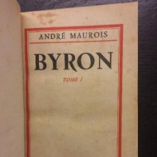 Libros antiguos: BYRON, ANDRE MAUROIS, 1930. Lote 120708887