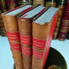 Libros antiguos: EL ESPECTADOR - GOETHE DESDE DENTRO - ORTEGA Y GASSET - 3 TOMOS - REVISTA DE OCCIDENTE - 1933 -. Lote 123014599