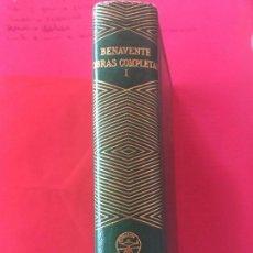 Libros antiguos: JACINTO BENAVENTE. OBRAS COMPLETAS TOMO I. AGUILAR JOYA. 1945 (COLECCION JOYA). Lote 123260279