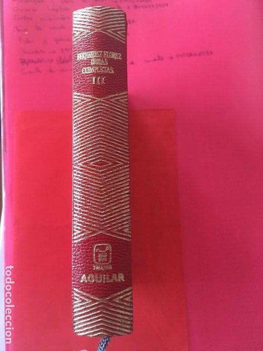 WENCESLAO FERNÁNDEZ FLORES: OBRAS COMPLETAS TOMO III .EDITORIAL AGUILAR, 1969 (COLECCION JOYA) (Libros antiguos (hasta 1936), raros y curiosos - Literatura - Ensayo)
