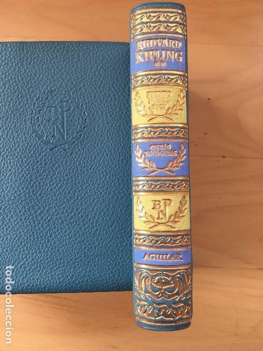 RUDYARD KIPLING OBRAS ESCOGIDAS - 2ª ED - TOMO II -1963- AGUILAR BIBLIOTECA PREMIOS NOBEL (Libros antiguos (hasta 1936), raros y curiosos - Literatura - Ensayo)