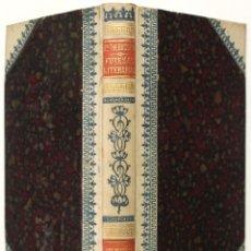 Libros antiguos: FUTESAS LITERARIAS. - THEBUSSEM, DR. BARCELONA 1899.. Lote 123252096