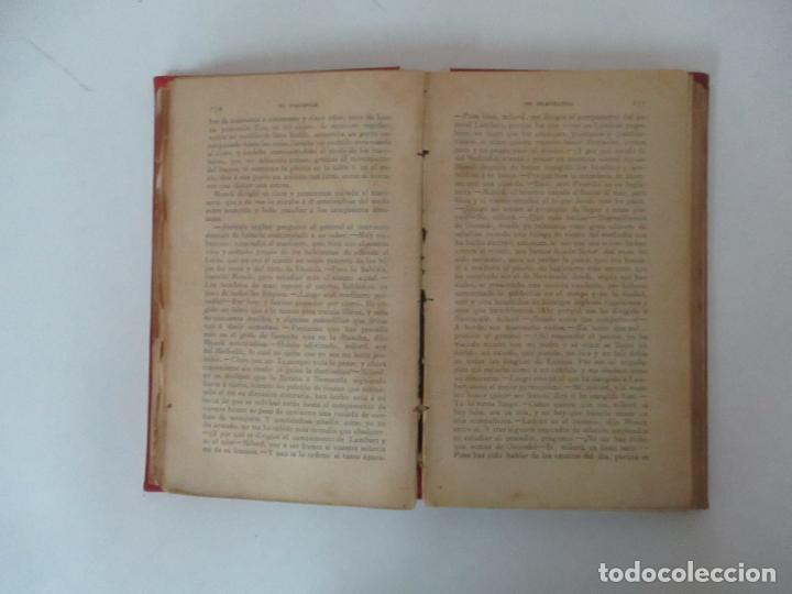 Libros antiguos: El Vizconde de Bracelona - A. Dumas - 6 Tomos - Completa - Foto 5 - 127436911