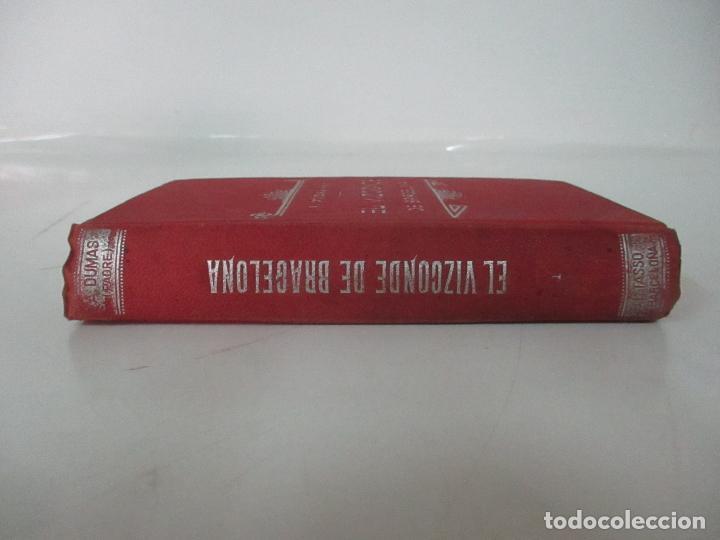 Libros antiguos: El Vizconde de Bracelona - A. Dumas - 6 Tomos - Completa - Foto 7 - 127436911