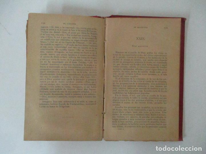 Libros antiguos: El Vizconde de Bracelona - A. Dumas - 6 Tomos - Completa - Foto 11 - 127436911