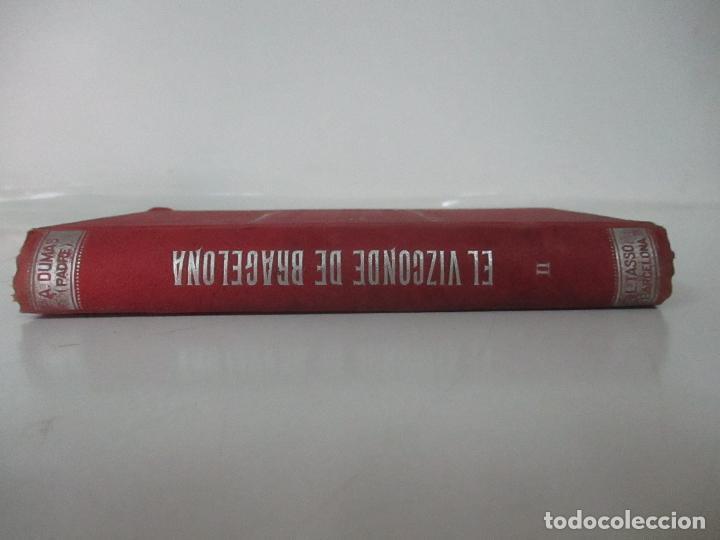 Libros antiguos: El Vizconde de Bracelona - A. Dumas - 6 Tomos - Completa - Foto 12 - 127436911