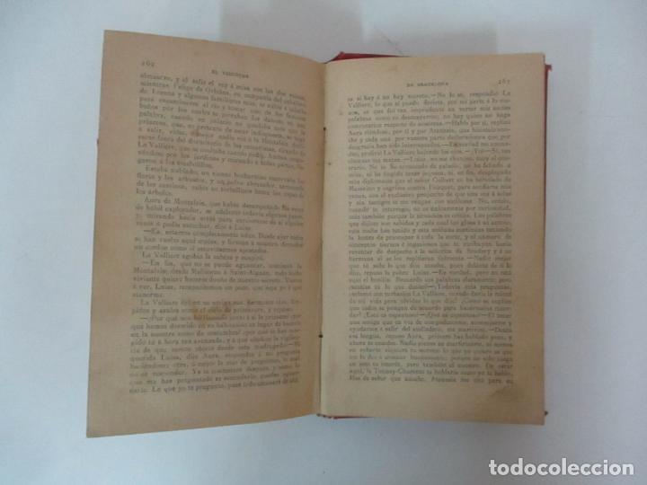 Libros antiguos: El Vizconde de Bracelona - A. Dumas - 6 Tomos - Completa - Foto 16 - 127436911