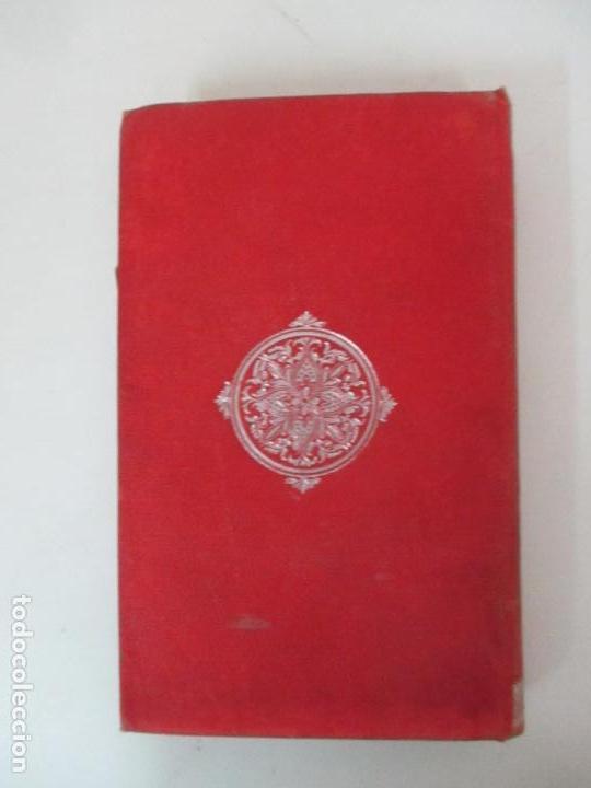 Libros antiguos: El Vizconde de Bracelona - A. Dumas - 6 Tomos - Completa - Foto 17 - 127436911