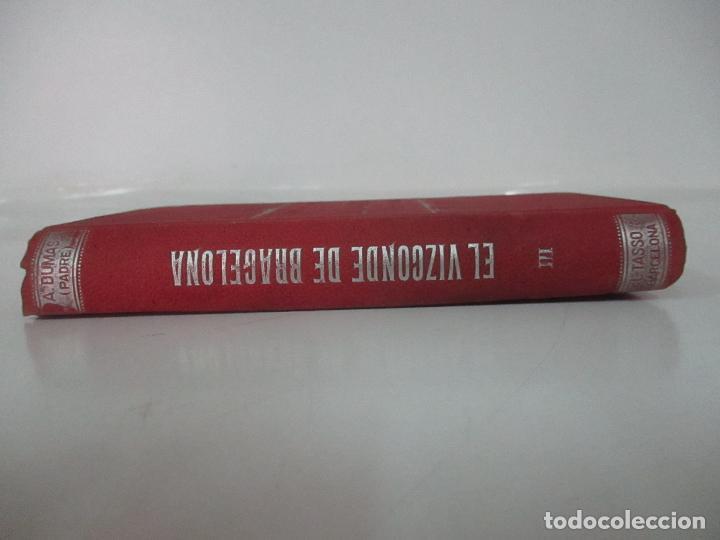 Libros antiguos: El Vizconde de Bracelona - A. Dumas - 6 Tomos - Completa - Foto 18 - 127436911
