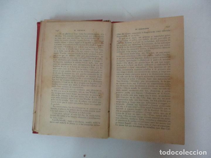 Libros antiguos: El Vizconde de Bracelona - A. Dumas - 6 Tomos - Completa - Foto 21 - 127436911