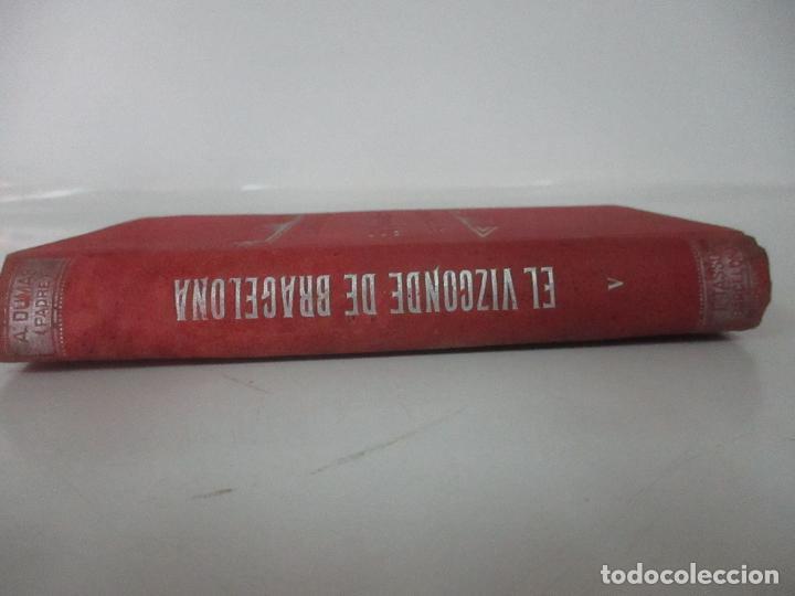 Libros antiguos: El Vizconde de Bracelona - A. Dumas - 6 Tomos - Completa - Foto 27 - 127436911