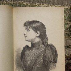 Libros antiguos: MUJERES VIDAS PARALELAS • CONCEPCIÓN GIMENO DE FLAQUER • 1893 · FEMINISMO. Lote 128246743