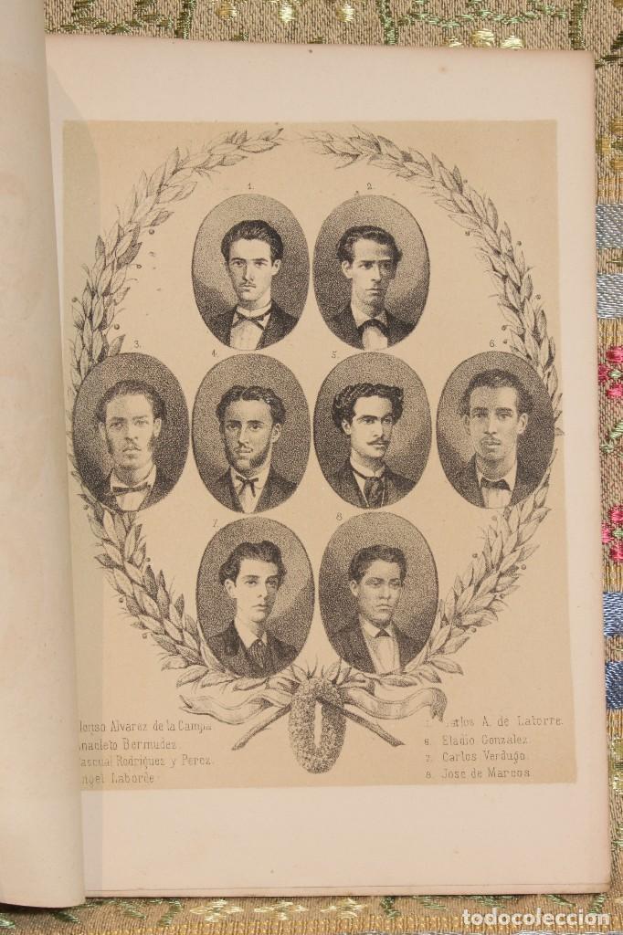 VOLUNTARIOS DE LA HABANA • ESTUDIANTES MEDICINA 1871 FERMÍN VALDÉS • JOSÉ MARTÍ (Libros antiguos (hasta 1936), raros y curiosos - Literatura - Ensayo)