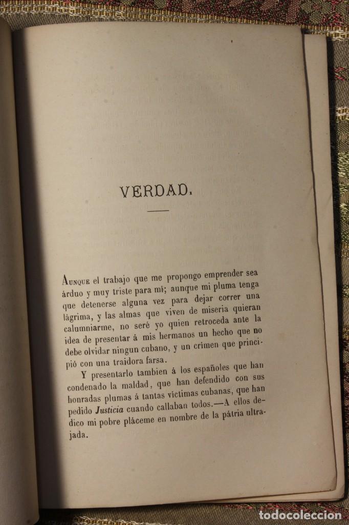 Libros antiguos: Voluntarios de la Habana • Estudiantes Medicina 1871 Fermín Valdés • José Martí - Foto 4 - 128461055