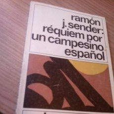 Libros antiguos: LIBRO DE RAMON J. SENDER. Lote 130013135