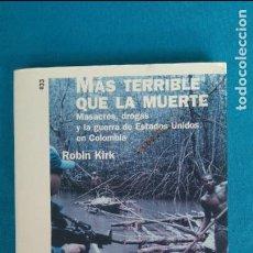 Libros antiguos: MÁS TERRIBLE QUE LA MUERTE. Lote 130247982