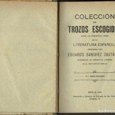 Libros antiguos: HISTORIA GENERAL DE LA LITERATURA, POR JOSÉ ROGERIO SÁNCHEZ. AÑO 1912. (6.5). Lote 131573666