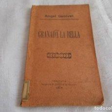 Libros antiguos: GRANADA LA BELLA ÁNGEL GANIVET 1913. Lote 133499010
