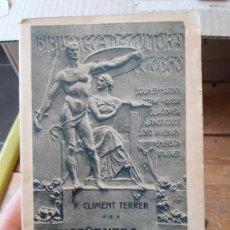 Libros antiguos: ENSEÑANZAS DEL QUIJOTE. CLIMENTE TERRER, ED. PARERA. 1916. . Lote 133610458